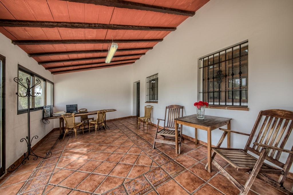 Salon comedor acristalado: Casa Rural en Arcos. Huerta del Prado (Cádiz)