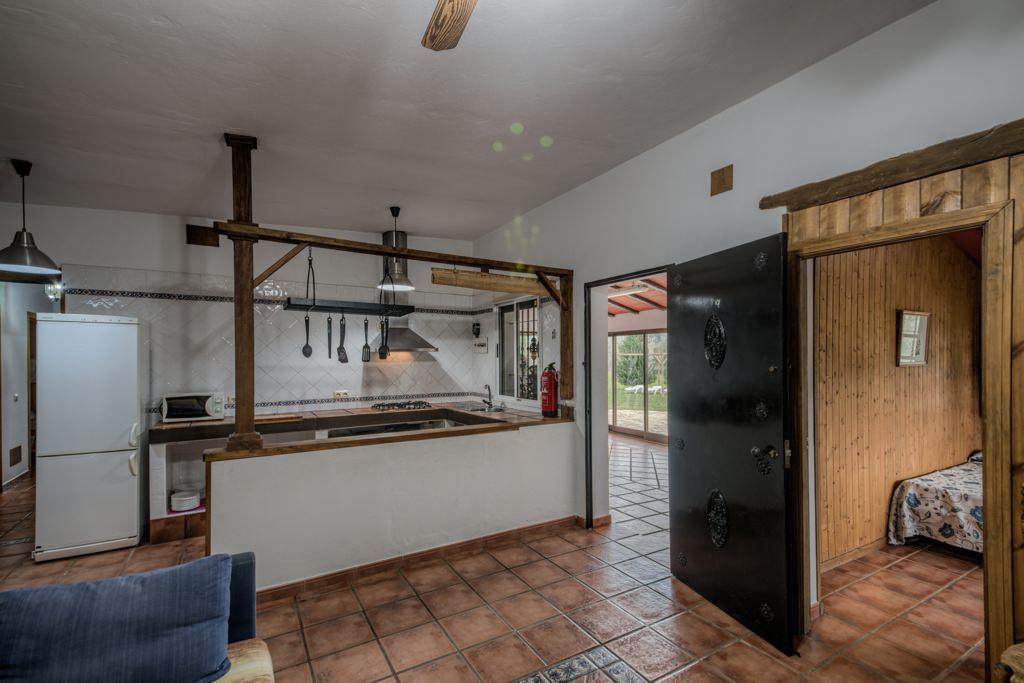 Cocina. Casa Rural Arcos de la Frontera. Cádiz. Huerta del Prado