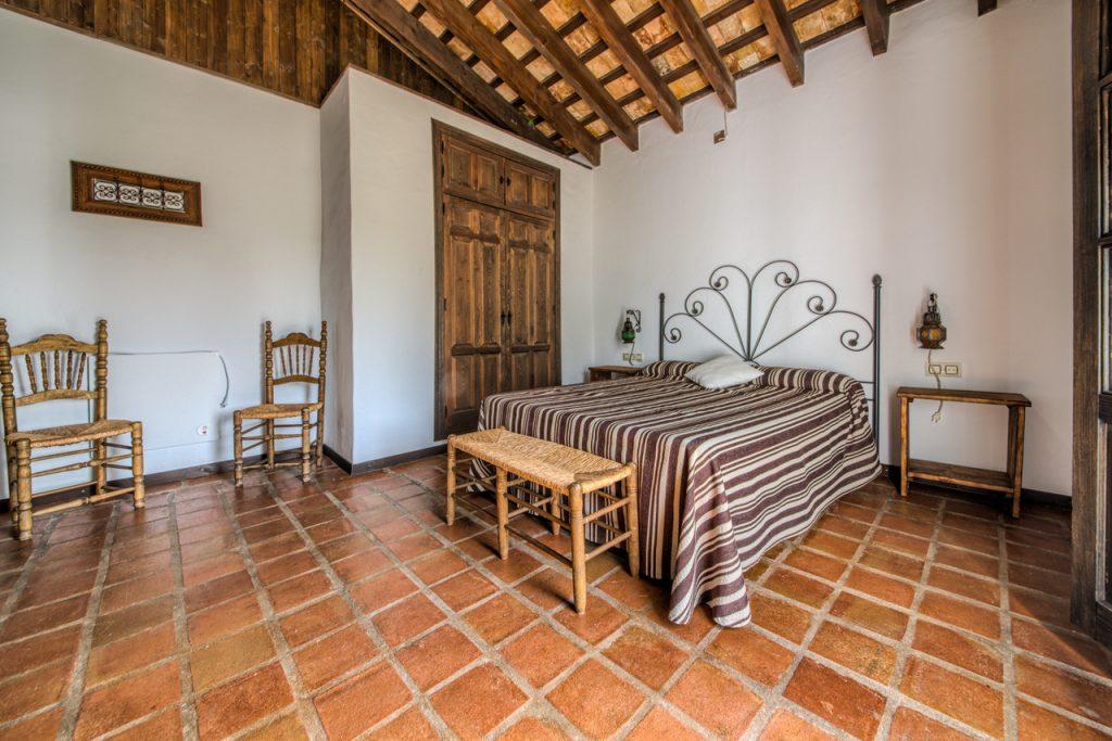 Dormitorio cama de matrimonio. Casas Rurales en Cádiz. Arcos de la Frontera